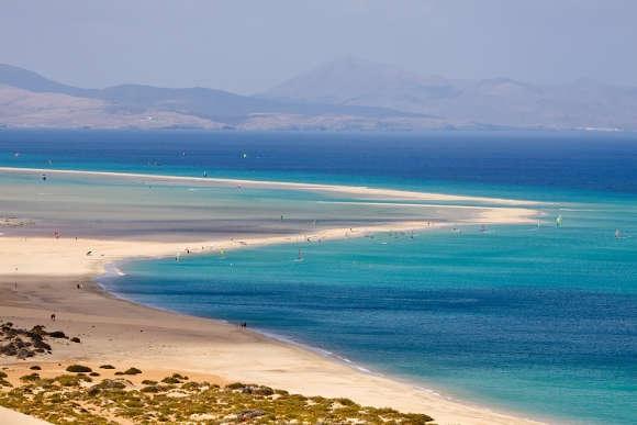 Costa Calma – einer der beliebtesten Badeorte der Insel Fuerteventura.