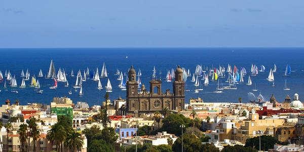 Am 22. November werden über 200 Segeljachten von Las Palmas nach Santa Lucía starten.