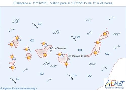 46593 1447361937 1000051 - nachrichten - Wetterprognose für Freitag 12.11.2015
