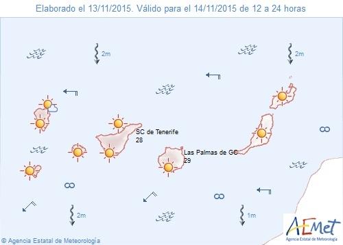 46602 1447447093 1000051 - nachrichten - Wetterprognose für Samstag 13.11.2015
