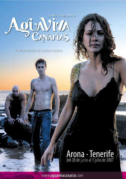 Festivalplakat Aguaviva 2007