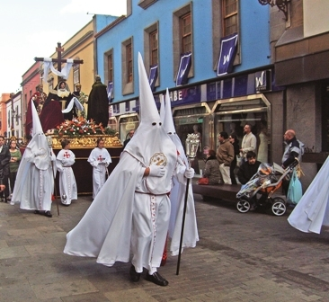 Religious festivities in La Laguna could easily have been confused by the BBC as well