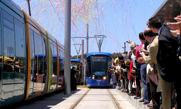 Straßenbahn Teneriffa: Es geht los!