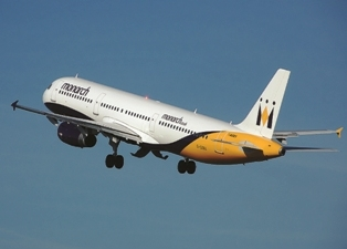 The incident occurred on a Monarch flight from Manchester