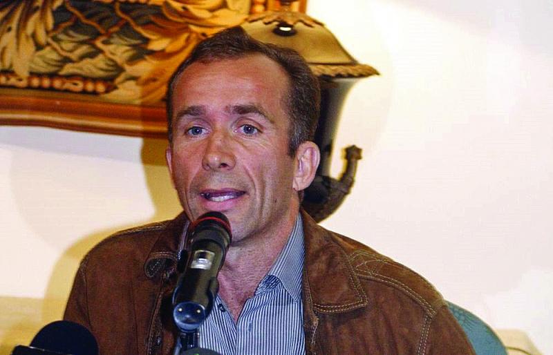 Hotel complex manager, Álvaro de la Bárcena