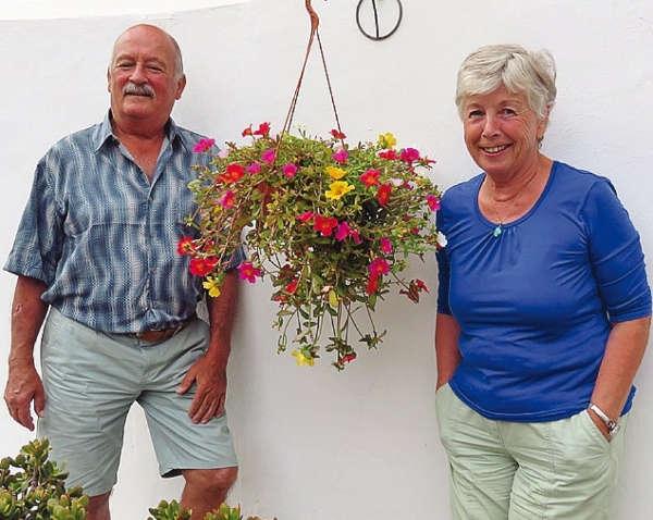 Zwischen dem Ehepaar Wolfgang und Heidi Ehrhardt funkt es schon seit 50 Jahren. Die Liebe zu Teneriffa kam erst beim zweiten Besuch zustande.