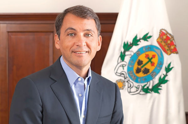 """José Manuel Bermúdez ist gerne der Bürgermeister """"seiner"""" Stadt."""
