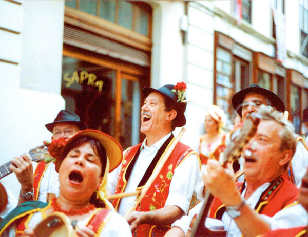 Folklore in La Orotava