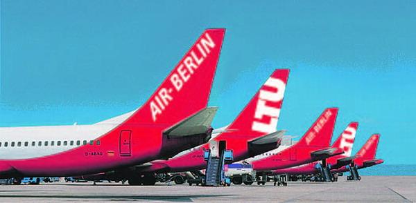 Die Air Berlin übernimmt die LTU