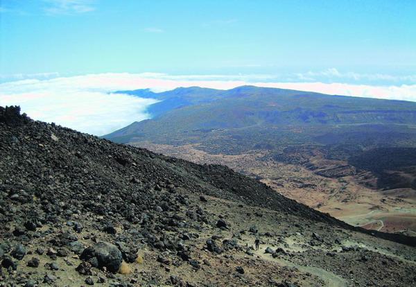 Die einzigartige Vulkanlandschaft bietet ein unvergessliches Panorama, das für alle Mühen entschädigt