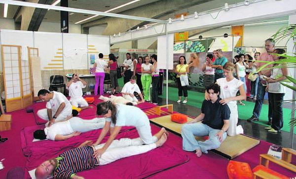Auf der Messe Natura salud werden immer zahlreiche Workshops und Konferenzen angeboten