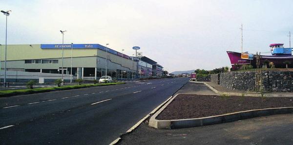 Die neue Einsanbahnlinie soll nicht durch das Industrie- und Wohngebiet von Las Chafiras verlaufen