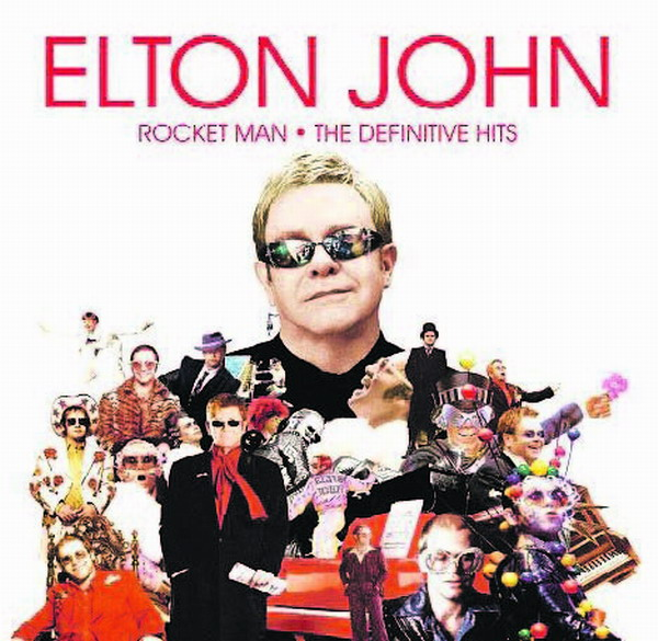 Das Album Rocket Man von Elton John