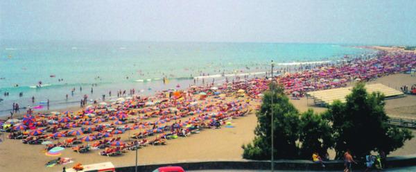 Mit den Geldmitteln werden vor allem die Einkaufszentren in Playa del Inglés saniert