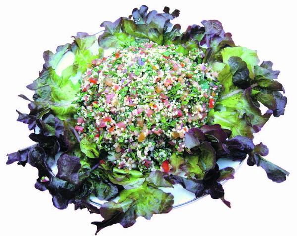 Tabouleh -  ein erfrischender, würziger Salat, der trotz einfacher Zubereitung herrlich schmeckt