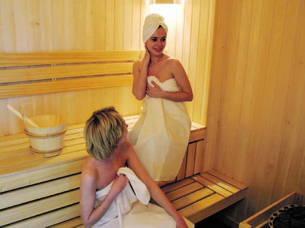 Der Gang in die Sauna: vor allem im Winter ein Hochgenuss