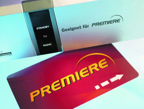 Premiere Smartcard und Premiere geeigneter Receiver