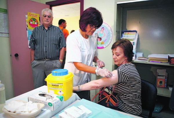 Für die Grippeimpfung ist kein Termin notwendig