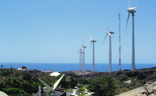 Der ITER Windpark in Granadilla
