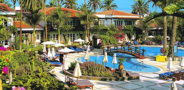 Das Seaside-Grand-Hotel Residencia in Maspalomas auf Gran Canaria gewann den diesjährigen TUI Holly Preis