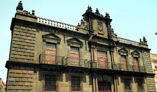 Der Nava-Palast in La Laguna wurde im 16. Jahrhundert errichtet
