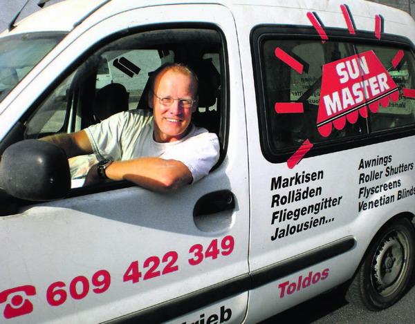 'Sunmaster' Bert Eilders auf Achse