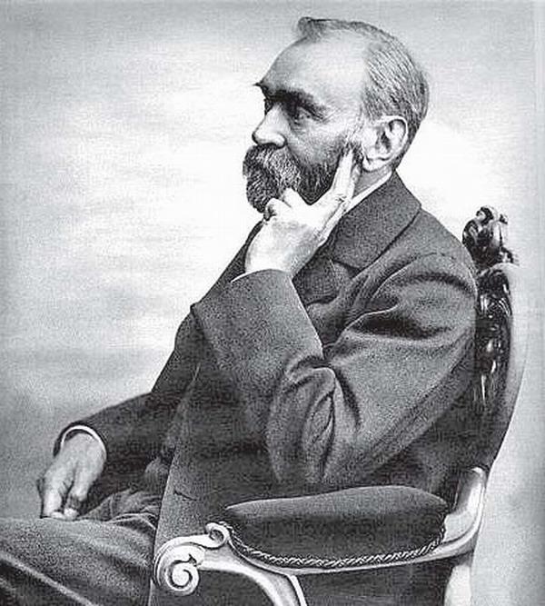 Alfred Nobel (1833-1896) war ein schwedischer Erfinder und Industrieller