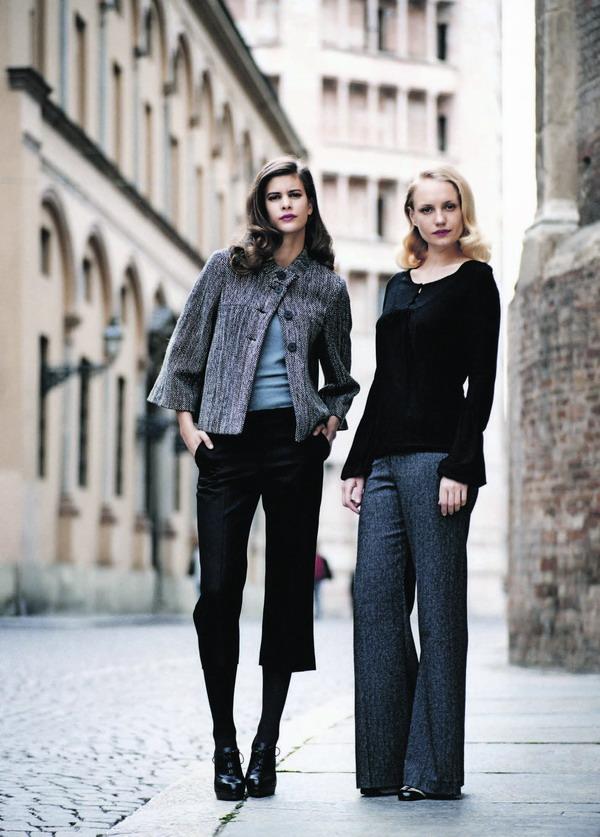 Schmal und schlicht: der neue Look made in England