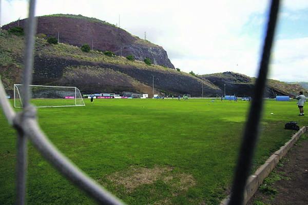 Die Trainingseinheiten des CD Tenerife finden überwiegend im Mundialito im Stadtteil Ofra statt
