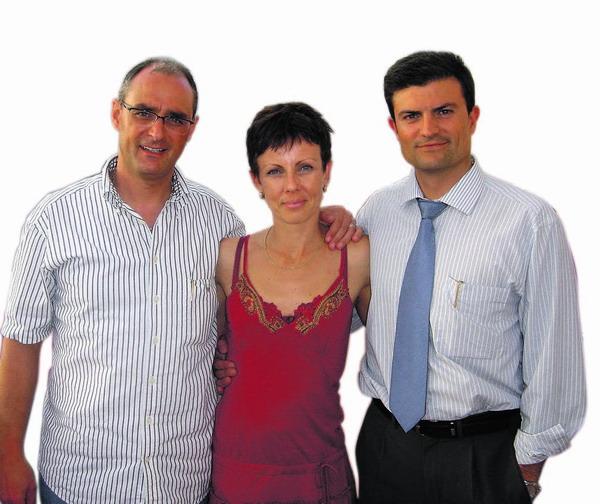 Von links nach rechts: Joe Schacher, Tina Straub und Henry Cruz