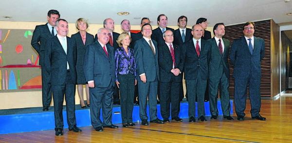 Kanarenpräsident Paulino Rivero traf EU-Präsident Jose Manuel Barroso in Brüssel