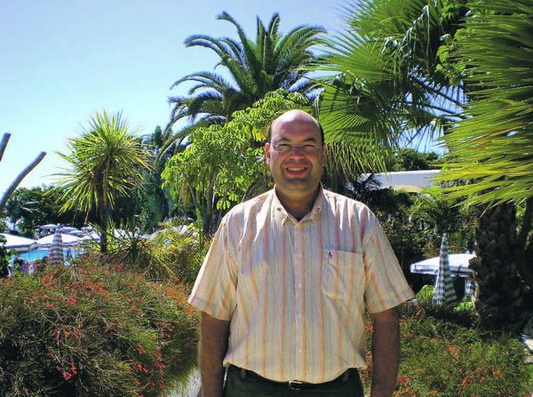 Luis Plasencia kennt das Hotel Jardín Tecina so gut wie seine eigene Westentasche