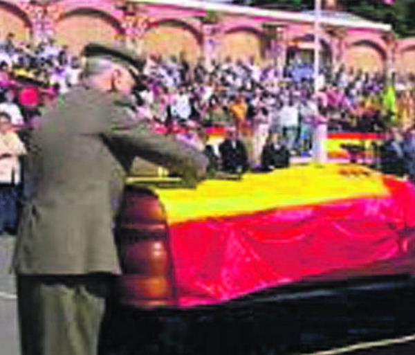 Der aus Gran Canaria stammende Soldat wurde in La Laguna beigesetzt