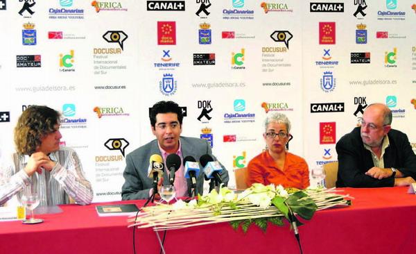 Die Pressekonferenz zur Präsentation der diesjährigen DOCUSUR