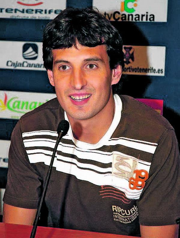 Spieler Mikel Arruabarrena Arambide erzielte für den CD Tenerife drei Tore in den letzten beiden Partien
