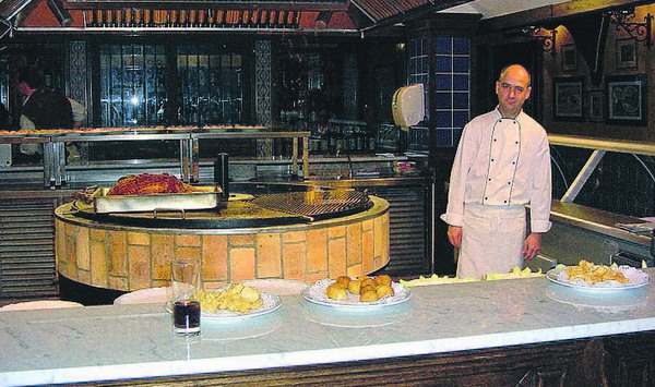 Ein Blick in die Küche von El Torito