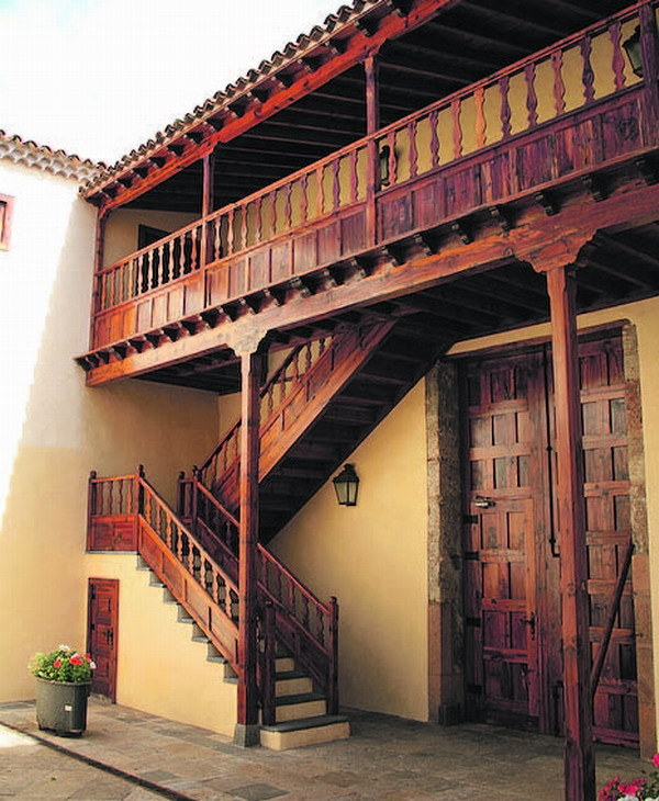 Wie alle historischen Häuser verfügt auch das Kloster über einen lauschigen Innenhof.