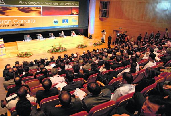 Der zweite Wasserentsalzungs-Weltkongress fand in Maspalomas statt