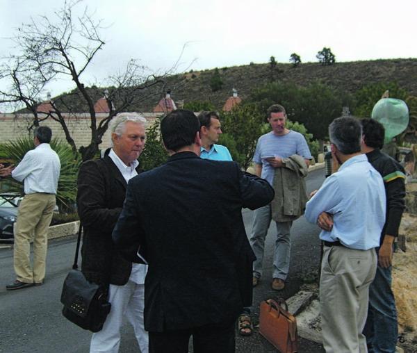 Vor Ort konnten sich die Weinexperten von der Einzigartigkeit der kanarischen Trauben und den besonderen Wachstumsbedingungen überzeugen