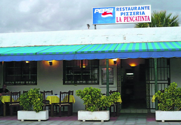 La Pencatinta in Costa del Silencio ist trotz bescheidener Fassade ein wahrer Juwel unter den