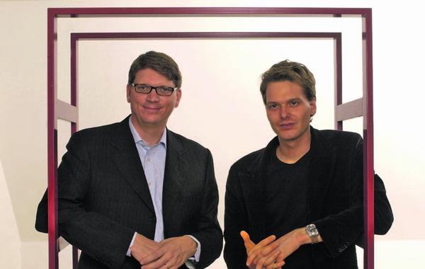 Skype Gründer Niklas Zennström und Janus Friis