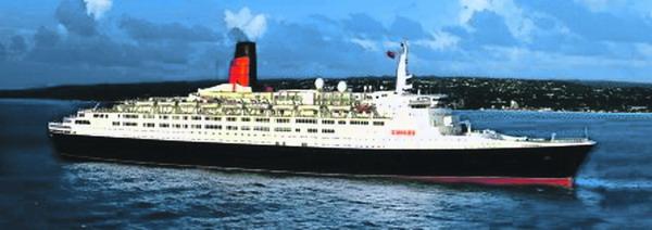 40 Jahre wurde die alte Kreuzfahrt-Dame Queen Elizabeth 2 in diesem Jahr
