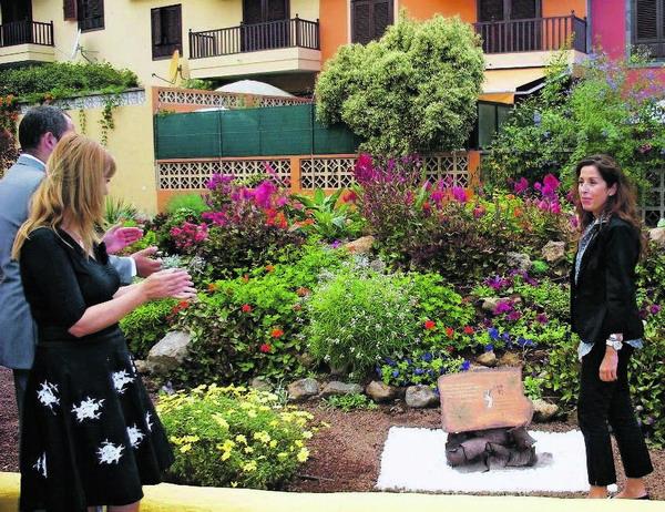 Feierliche Einweihung des Jardin Santa Lys in Puerto de la Cruz