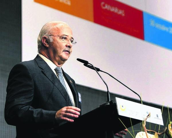 Ricardo Melchior wies auf die zahlreichen Initiativen der Inselregierung hin