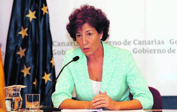 Die kanarische Sozialministerin Inés Rojas informierte über die Brandentschädigungen