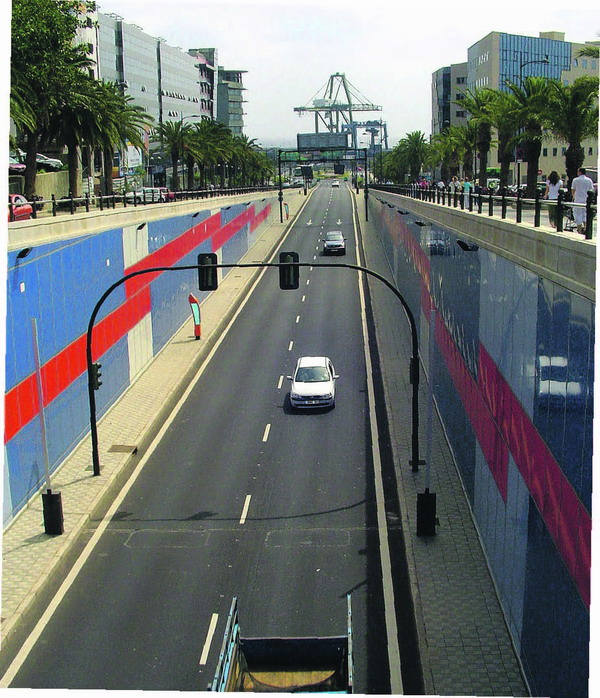 Der Tunnel in der Avenida Tres de Mayo war mehrere Stunden gesperrt – rund 40.000 Menschen steckten im Stau fest