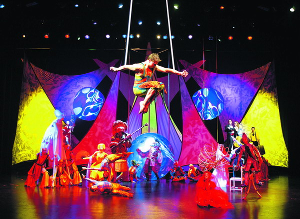 Die atemberaubende Show des Zirkus Balagan bleibt unvergesslich