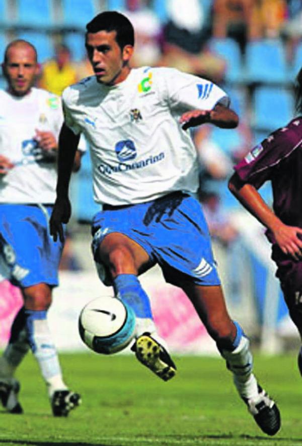 Ricardo León Brito aus Santa Cruz schoss das erste Tor gegen Xerez