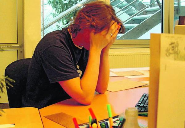 Termindruck: Auch vor Weihnachten fällt der Büro-Stress nicht weg