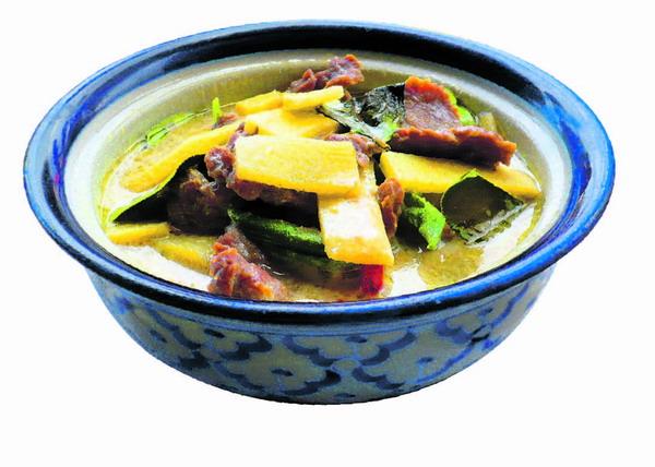 """""""Green Curry"""" ist eines der beliebtesten Thai-Gerichte"""